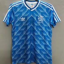 1988 Netherlands Away Retro Soccer Jersey