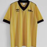 1983-1986 ARS Away Yellow Retro Soccer Jersey