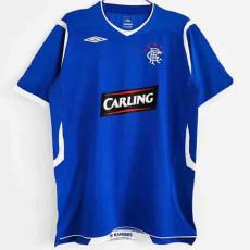 2008-2009 Rangers Home Retro Soccer Jersey