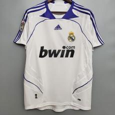 2007-2008 RMA Home Retro Soccer Jersey