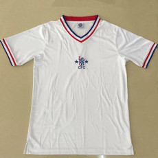 1982 CHE Away White Retro Soccer Jersey