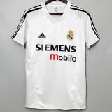 2004-2005 RMA Home Retro Soccer Jersey