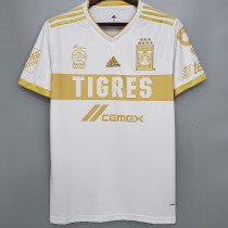 20-21 Tigres UANL Away White Fans Soccer Jersey