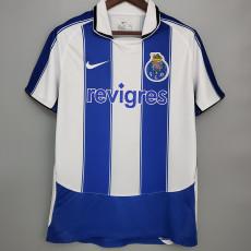 2003-2004 Porto Home Retro Soccer Jersey
