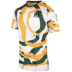 2021 Marseille 'OM  Africa'  White Green Yellow Collectors Shirts