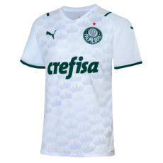 21-22 Palmeiras 1:1 Away White Fans Soccer Jersey