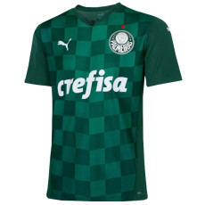 21-22 Palmeiras 1:1 Home Green Fans Soccer Jersey