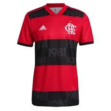 21-22 Flamengo Home Fans Soccer Jersey