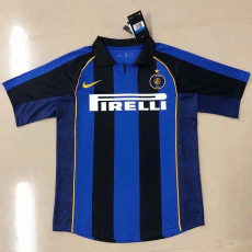 2001-2002 INT Home Retro Soccer Jersey