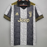 2021 JUV Moschino Edition Black Fans Soccer Jersey