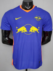 20-21 RB Leipzig Away Player Version Soccer Jersey