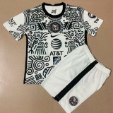 2021 Club America Third Kids Soccer Jersey