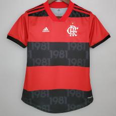 21-22 Flamengo Home Women Soccer Jersey