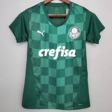 21-22 Palmeiras Home Women Soccer Jersey