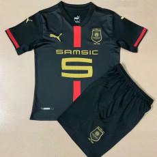 20-21 Stade Rennais 120th Anniversary Kids Soccer Jersey