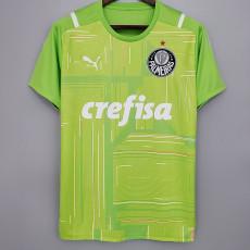21-22 Palmeiras Goalkeeper Green Soccer Jersey