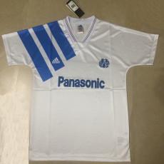 1991-1992 Marseille Home Retro Soccer Jersey