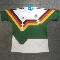 1990 Germany Special Version  Retro Soccer Jersey