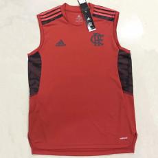 21-22 Flamengo Red Training Suit  Vest