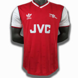 1986-1988 ARS Home Red Retro Soccer Jersey