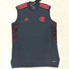 21-22 Flamengo Black Training Suit  Vest