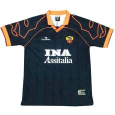 1999-2000 Roma Away Retro Soccer Jersey