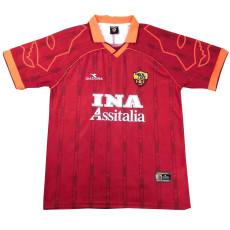 1999-2000 Roma Home Retro Soccer Jersey