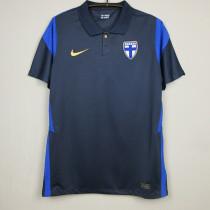 2020 Finland Away 1:1 Blue Fans Soccer Jersey