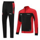 21-22 ACM Red  Black Jacket Tracksuit