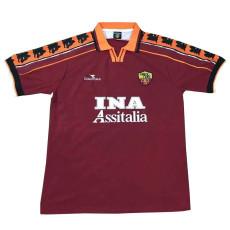 1998-1999 Roma Home Retro Soccer Jersey