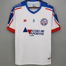 21-22 BaHia Home Fans Soccer Jersey  (带广告 )
