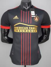 21-22 Atlanta United Home Black Player Version Soccer Jersey 亚特兰大联