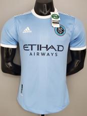 21-22 New York City Home Player Version Soccer Jersey 纽约城