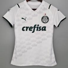 21-22 Palmeiras Away White Women Soccer Jersey
