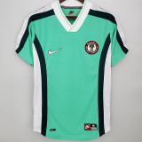 1998 Nigeria Home Retro Soccer Jersey