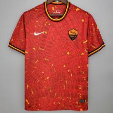 20-21 Roma Pre-match Red Training shirts