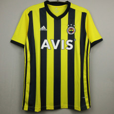 20-21 Fenerbahce Home Fans Soccer Jersey (费内巴切)