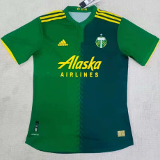 21-22 Portland Timbers Home White Fans Soccer Jersey (波特兰伐木者)
