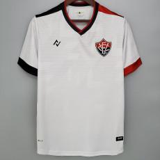 21-22 EC Vitoria Nego Away White Fans Soccer Jersey