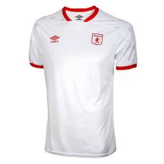 21-22  America de Cali Away White Fans Soccer Jersey  (阿美利加)