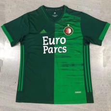 21-22 Feyenoord Away Green Fans Soccer Jersey