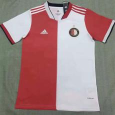 21-22 Feyenoord Home Fans Soccer Jersey