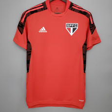 21-22 Sao Paulo Red Training Shirt