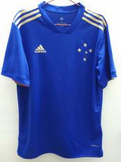 21-22 Cruzeiro Home Blue Fans Soccer Jersey