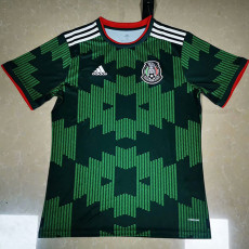 21-22 Mexico Away Green Fans Soccer Jersey