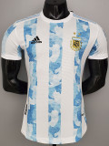 20-21 Argentina Home Player Version Soccer Jersey