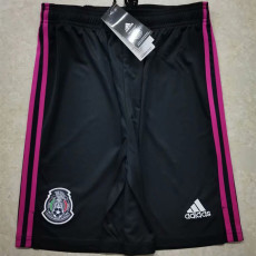 2021 Mexico Black Shorts Pants