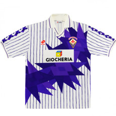 1991-1992 Fiorentina Away Retro Soccer Jersey