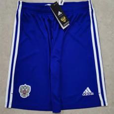 2021 Russia Away Blue Shorts pants