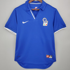 1998 Italy Home Retro Soccer Jersey